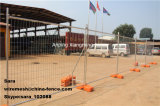 As4687 Горяч-Окунуло гальванизированную загородку строительной площадки безопасности временно