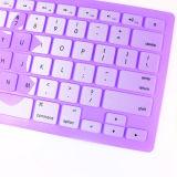 Farben-ändernder Drucken-Silikon-Laptop-Tastatur-Deckel für MacBook Pro 13 15 17