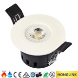 Fuoco 5W Rated Dimmable LED Downlight dell'indicatore luminoso BS476 della stanza da bagno IP65