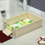 Casas animais preservativas Eco-Friendly dos infantes da madeira contínua