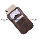 Accesorios de cuero del teléfono móvil de la bolsa con las ranuras para tarjeta para IP7