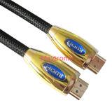Mâle en gros de câble de HDMI au support mâle 4k