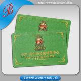 Impression gravée en relief UV de cartes de visite professionnelle de visite d'endroit