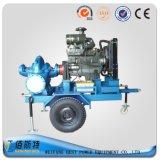 Bomba de agua de aguas residuales del oscurecimiento del uno mismo del motor diesel del acoplado