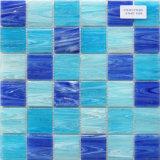 Color de cristal del azul del mosaico 48by48m m