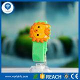 Bracelet sec imperméable à l'eau d'IDENTIFICATION RF de silicones de 13.56MHz MIFARE 1k