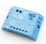 青い12V/24V自動20A Solar システムCharger USBが付いているコントローラ