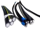 IEC 60502の標準19/33kv Al/XLPE/PVCオーバーヘッドによって絶縁されるケーブルABCケーブル