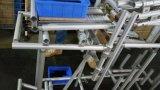 細いラックのためのアルミニウム接合箇所