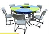 ライブラリ机のための子供の学校の机および椅子の学校家具の教室の家具