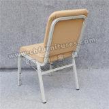 ベージュBookrack (YC-G76)の販売のための革によって使用される教会椅子