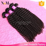 Sew no cabelo Curly Kinky Mongolian do cabelo 8A do Virgin do Weave