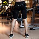 Pantaloni attivi maschii di Shorts stretti di ginnastica del Mens per il commercio all'ingrosso