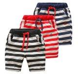 아이들 옷 소년 바지 여름 형식 우연한 줄무늬 간결