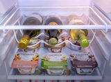 Cremagliera universale del vino del frigorifero del supporto della bevanda delle 3 bottiglie