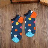 Klare Farben-Straßen-Art-Unisexkleid-Tief-Schnitt-Socke