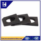 Cuadrado biselado arandela de acero maleable / acero al carbono
