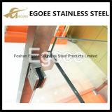 Alta calidad abrazadera de cristal del vidrio de Frameless de la abrazadera de la barandilla del clip de 304 vidrios