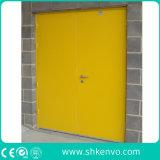 UL ou FM Certificaram a Porta de Saída Vitrificada Avaliada Incêndio do Metal ou do Aço com o Indicador de Vidro para o Uso Externo E Interno