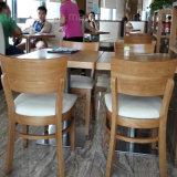Tabla restaurante comercial y Silla de madera muebles de comedor (SP-CS337)