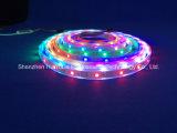 Farbenreicher SMD5050 Streifen des RGB-IP68 Chip-30LEDs 9W DC24V LED