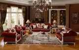 Insieme classico del sofà del tessuto americano