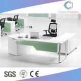 Moderner Melamin-Manager-Arbeits-Büro-Computer-Tisch