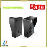 9 citofono di Doorphone della registrazione di parola d'accesso di pollice RFID video con i vari modi sbloccare