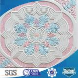 Azulejos decorativos acústicos del techo del yeso de Grg