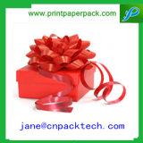 Rectángulo de empaquetado de regalo de la cinta del rectángulo cosmético de papel del rectángulo