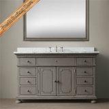 Vanité en bois de Bath de Module de Bath de vanité de salle de bains en bois solide de Fed-1668A