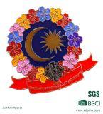 Emblema de Pin de lapela de flor de flores de metal de lembrança personalizado (XDBG-265)