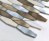 De Tegels Aashrb2201 van de Muur van de Badkamers van Backsplash van de Keuken van de Decoratie van de Tegels van Matel van de Steen van de Tegels van het Mozaïek van het aluminium