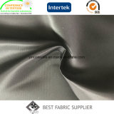 Tessuto di nylon del cappotto del vento del tessuto della prova dell'acqua della saia 340t di 100%