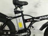 Graisse de 20 pouces pliant le vélo électrique