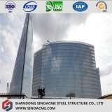 Cadre de structure en acier lourd pour gratte-ciel commercial