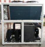 Refrigerador refrescado aire industrial de los circuitos de agua del desfile para el agua de enfriamiento
