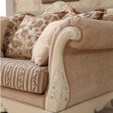 Sofá antigo americano ajustado do sofá de madeira clássico para a mobília Home