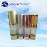 MattSilver Aluminum Airless Bottle für Body Cream 15ml30ml50ml100ml