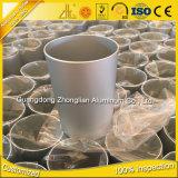 Fabrik-Zubehör passte anodisierten Aluminiumausschnitt des Form-Aluminium-6063 Gefäß des profil-T6 an