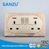 Top Sale High Quality Double 13A Socket