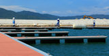 Rotomolded Plastikponton für Material des Dock-LLDPE