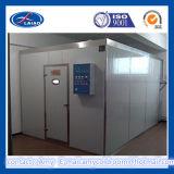 La cella frigorifera della carne e del pollo, pesca la conservazione frigorifera e l'imballaggio, il congelatore C.