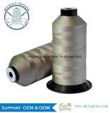Filato cucirino di cuoio 250d/3 dell'alto di tenacia filamento del poliestere