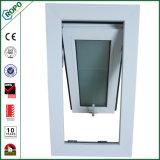 低価格のオーストラリアの標準PVC曖昧なガラスが付いている単一の窓ガラスの日除けWindows