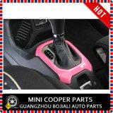 Cubierta rosada material del sostenedor de Cover&Cup del engranaje de la rotación de estilo del ABS del accesorio auto para el modelo renegado (2PCS/SET)