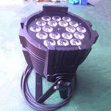 iluminación impermeable al aire libre de la etapa de la IGUALDAD 64 de 18X15W RGBWA 5in1 LED