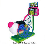 Paseos del Kiddie del equipo del parque de atracciones con el vídeo 3D para los niños (ZJ-KR06A)