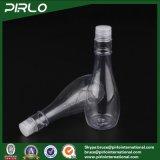 [150مل] يفرج بلاستيكيّة مستحضر تجميل وعاء صندوق زجاجات إناء زهر يشكّل واضحة ماء بنية زجاجة مع برغي على غطاء