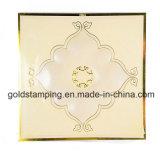 Papeles de oro laterales de una hoja